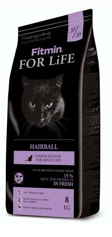 Корм Fitmin For Life Hairball