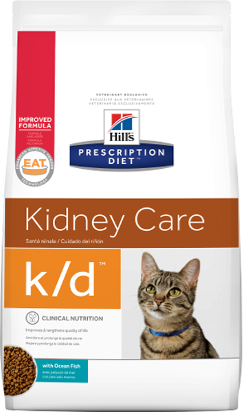 Hill's Prescription Diet k/d Kidney Care для кошек (тунец)