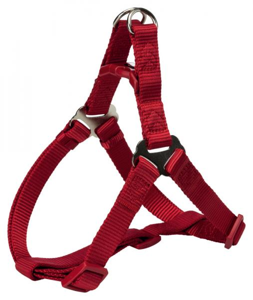 "Шлея ""TRIXIE"" для собак ""Premium One Touch harness"", (L), 65-80см/25мм, красный"
