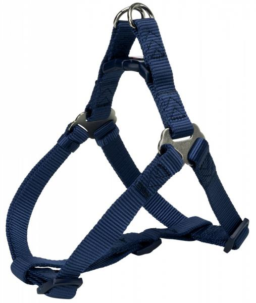 "Шлея ""TRIXIE"" для собак ""Premium One Touch harness"", (L), 65-80см/25мм, индиго"