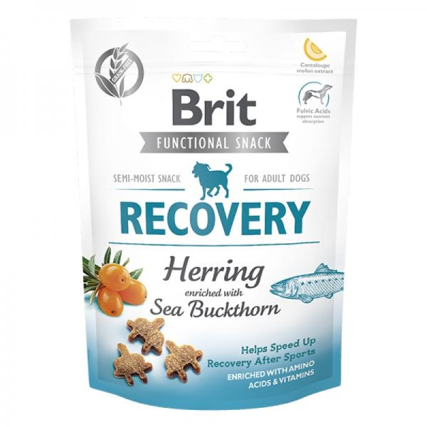 Лакомство Brit Care Dog Functional Snack Recovery с селедкой (Восстановление)