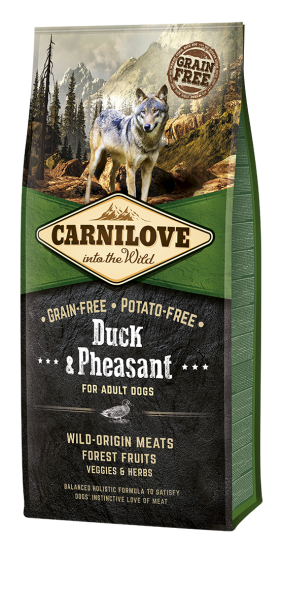 Carnilove Duck&Pheasant for Adult Dogs