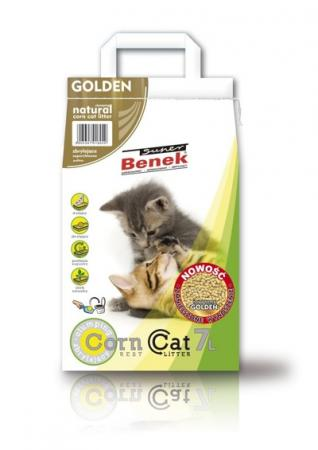 "Super Benek ""Corn Cat"" кукурузный Golden"