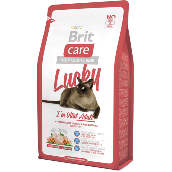 Brit Care Cat Lucky I'm Vital Adult