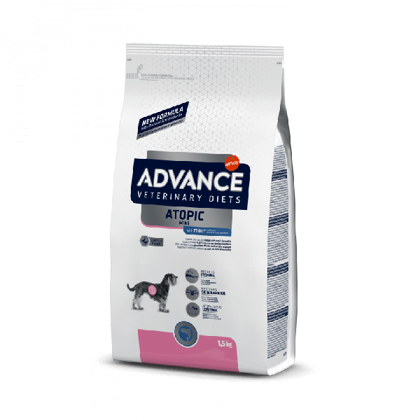 Advance Dog VetDiet Atopic Mini сухой корм для собак малых пород при дерматозах и аллергии