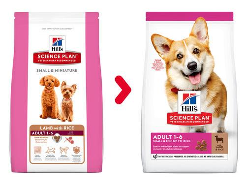 Hill's Science Plan Canine Adult Small & Miniature Lamb & Rice (Хиллс) корм для собак мелких и миниатюрных пород, ягненок и рис