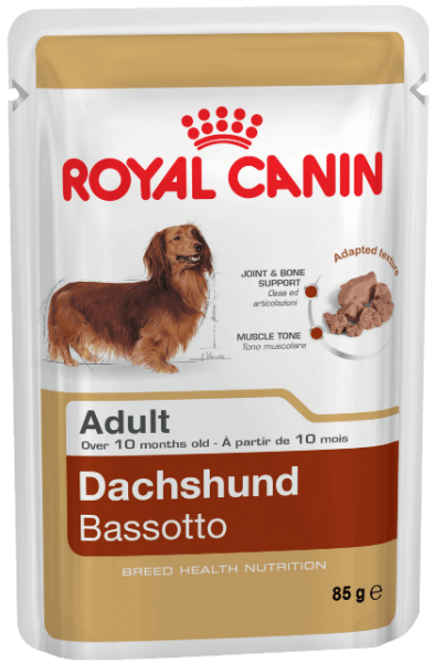 Royal Canin Dachshund Adult паштет для собак породы Такса в возрасте от 10 месяцев