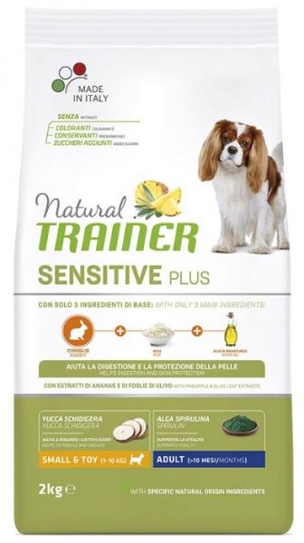 Trainer Natural Sensitive Plus Small&Toy Adult (Кролик)