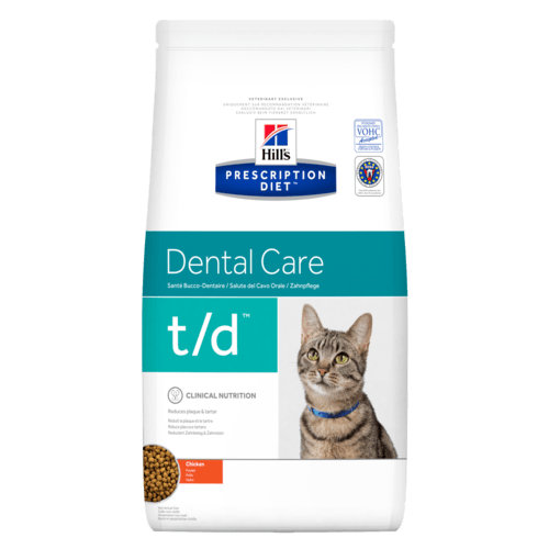 Hill's Prescription Diet t/d Dental Care для кошек (курица)