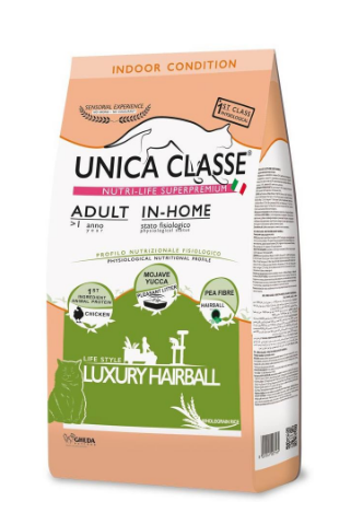 Unica Classe Adult In-Home Luxury Hairball (Курица)